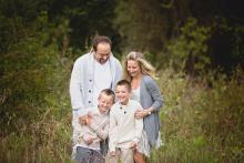 Family lifestyle shoot in Trophy Club by Sunny Mays