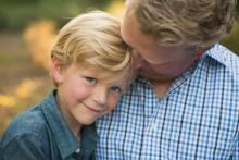 Father and son beautiful family photography by Sunny Mays in Westlake Trophy Club Keller Southlake