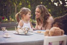 Mother daughter tea party in Southlake Texas by Sunny Mays