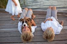 Family and child photographer that can work with dogs and pets in Dallas Ft. Worth