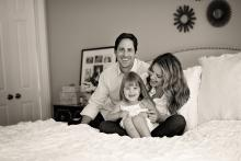 Fun family lifestyle image in Southlake by Sunny Mays Photography
