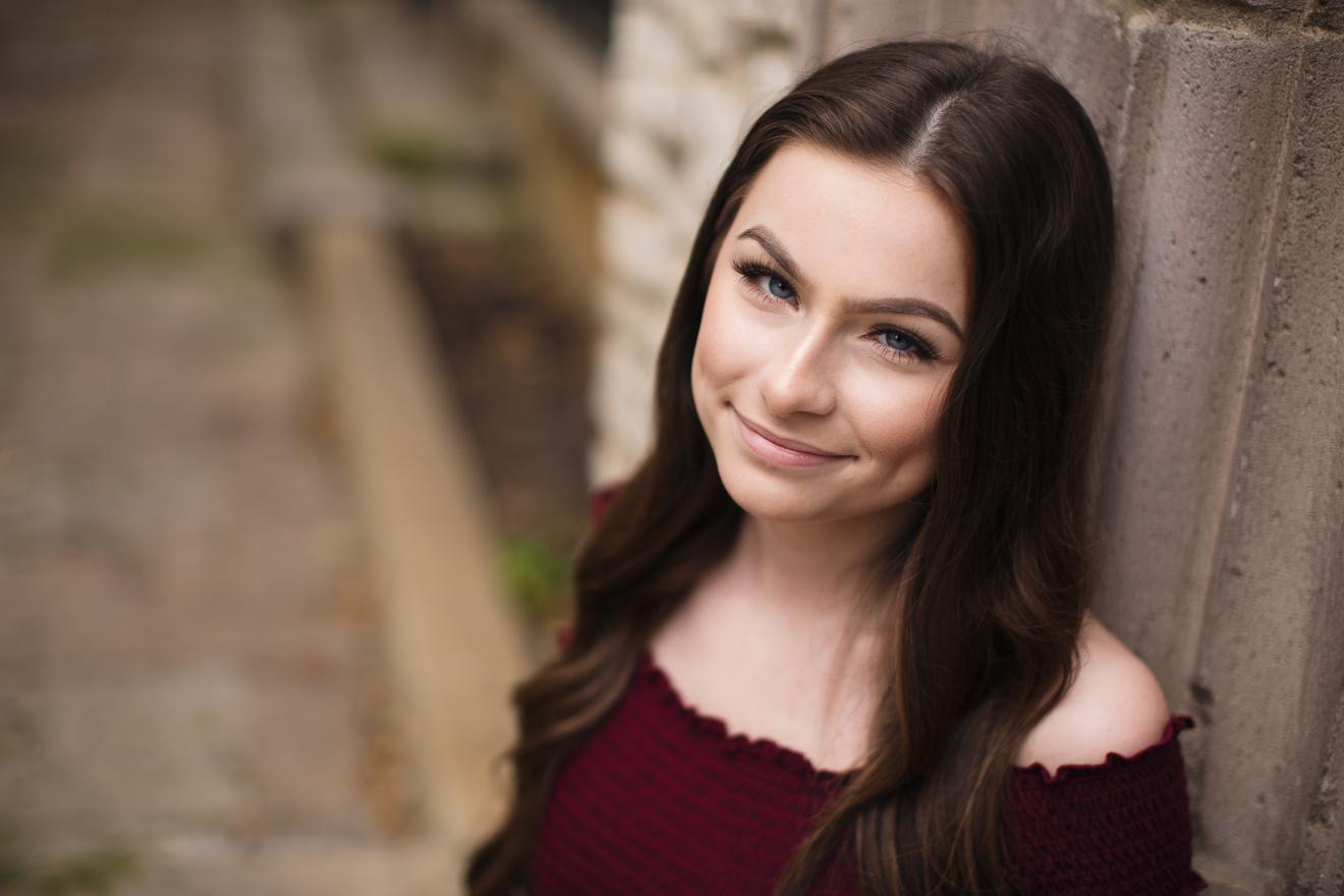 beautiful graduating senior portraits by Sunny Mays Photography