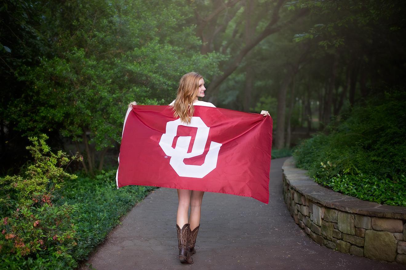 OU bound Graduating Teen Trophy Club Texas